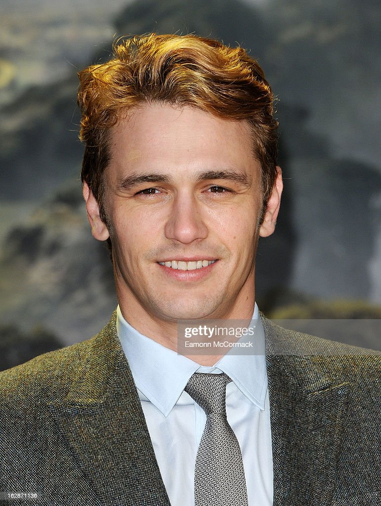 <a gi-track='captionPersonalityLinkClicked' href=/galleries/search?phrase=James+Franco&family=editorial&specificpeople=577480 ng-click='$event.stopPropagation()'>James Franco</a> attends the UK Premiere of 'Oz: The Great and Powerful' at Empire Leicester Square on February 28, 2013 in London, England.