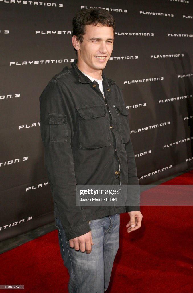 James Franco during PLAYSTATION 3 Launch - Red Carpet at 9900 Wilshire Blvd. in Los Angeles, California, United States.