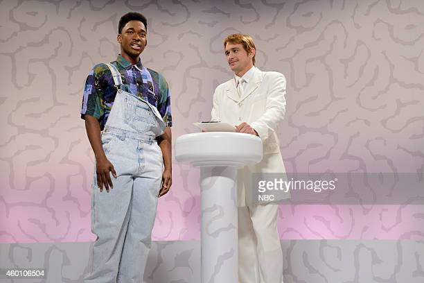 LIVE 'James Franco' Episode 1670 Pictured Jay Pharoah as the Fresh Prince of BelAir and James Franco during the 'Brain Space' skit on December 6 2014