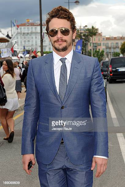 James Franco is seen during The 66th Annual Cannes Film Festival on May 19 2013 in Cannes France