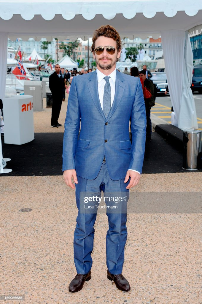 <a gi-track='captionPersonalityLinkClicked' href=/galleries/search?phrase=James+Franco&family=editorial&specificpeople=577480 ng-click='$event.stopPropagation()'>James Franco</a> is seen The 66th Annual Cannes Film Festival on May 19, 2013 in Cannes, France.