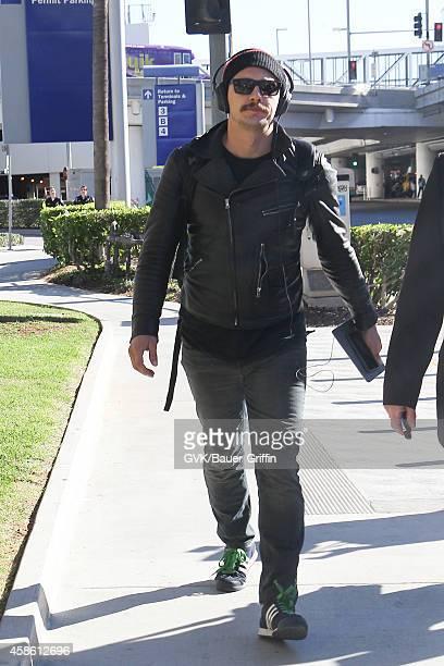 James Franco seen at LAX on November 07 2014 in Los Angeles California