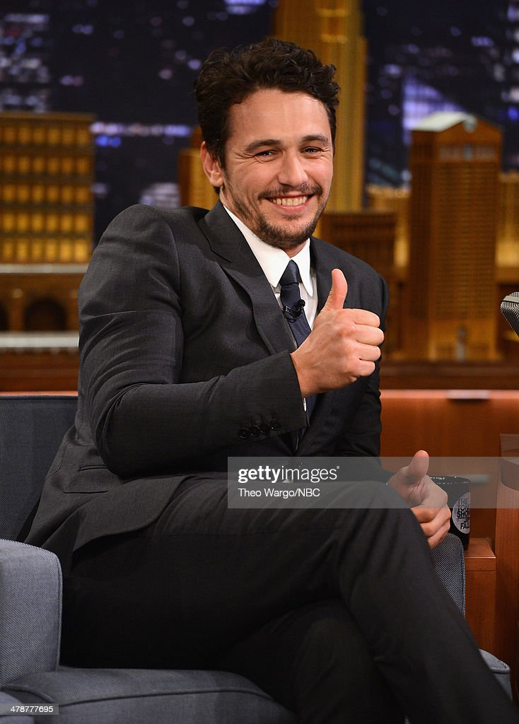 "James Franco Visits ""The Tonight Show Starring Jimmy Fallon"""