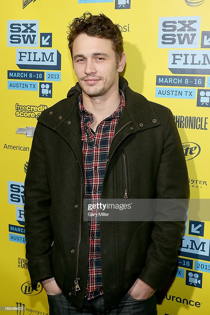 <a gi-track='captionPersonalityLinkClicked' href=/galleries/search?phrase=James+Franco&family=editorial&specificpeople=577480 ng-click='$event.stopPropagation()'>James Franco</a> walks the red carpet at the Paramount Theater for the new film 'Spring Breakers' during South By Southwest Film Festival on March 10, 2013 in Austin, Texas.