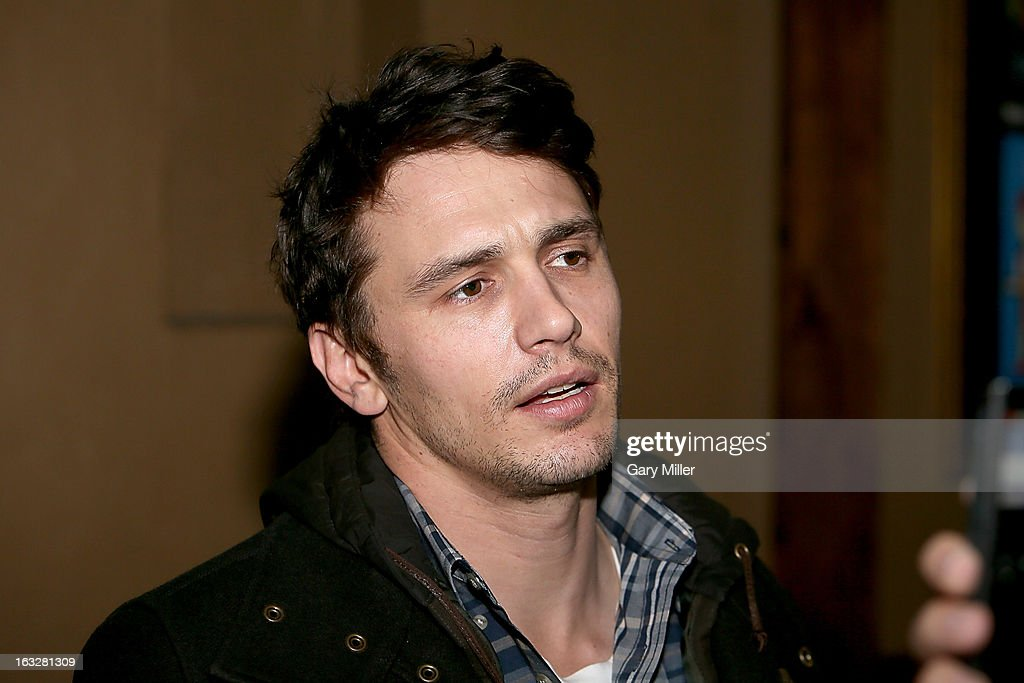 <a gi-track='captionPersonalityLinkClicked' href=/galleries/search?phrase=James+Franco&family=editorial&specificpeople=577480 ng-click='$event.stopPropagation()'>James Franco</a> walks the red carpet during a screening of his new film TAR at the Alamo Drafthouse Ritz on March 6, 2013 in Austin, Texas.