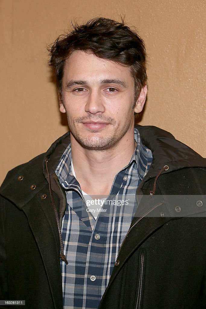 James Franco walks the red carpet during a screening of his new film TAR at the Alamo Drafthouse Ritz on March 6, 2013 in Austin, Texas.