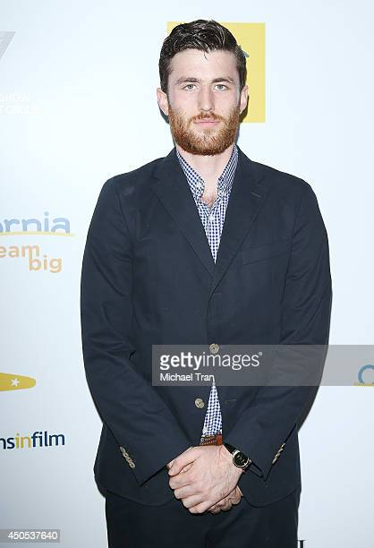 James Frecheville arrives at Australians In Film's 6th Annual Heath Ledger Scholarship dinner held at SLS Hotel at Beverly Hills on June 12 2014 in...