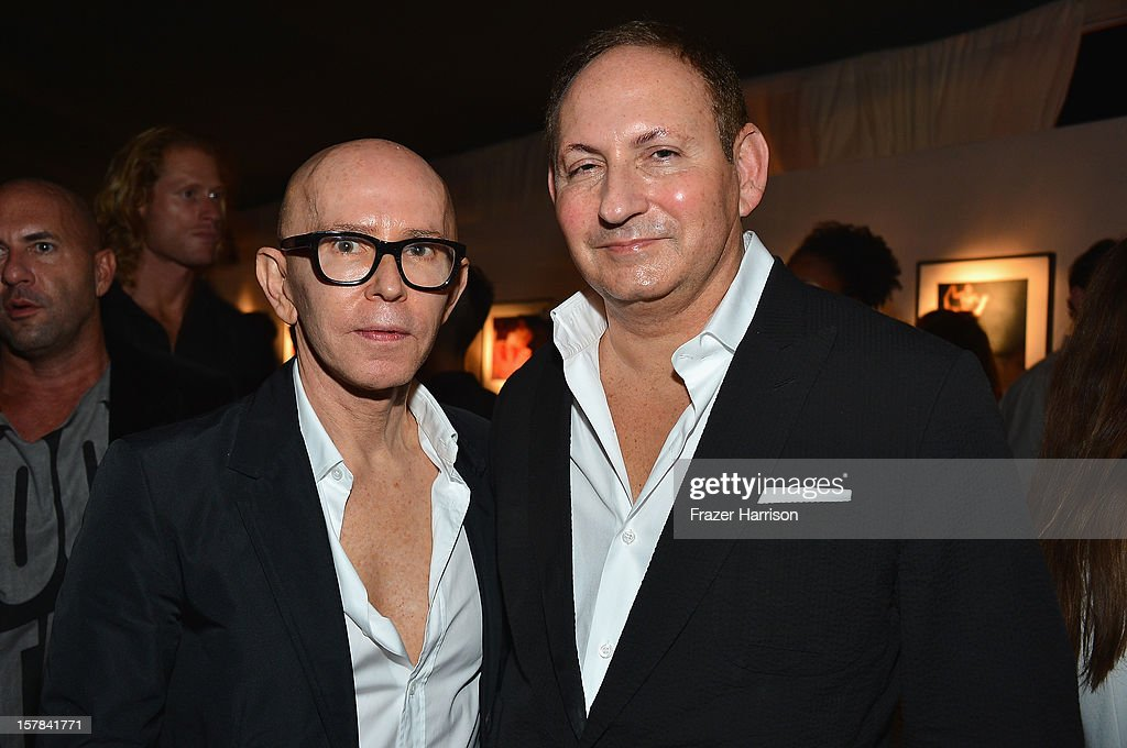 James Gager and John Dempsy attends the amfAR Inspiration Miami Beach Party on December 6, 2012 in Miami Beach, United States.