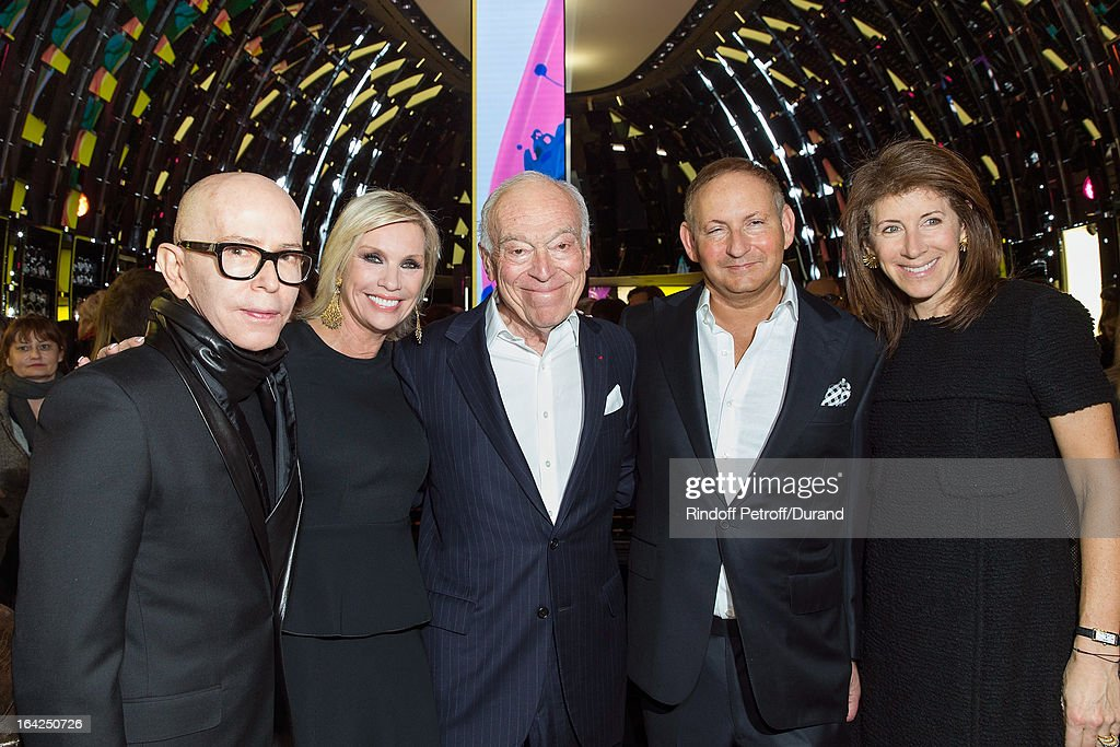 mac cosmetics champs elysees opening party getty images. Black Bedroom Furniture Sets. Home Design Ideas