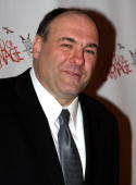 James Gandolfini attends the after party for the Broadway opening of 'God of Carnage' at espace on March 22 2009 in New York City