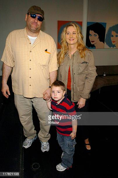 James Gandolfini Marcy Gandolfini and son during 11th Annual Kids for Kids Celebrity Carnival to Benefit the Elizabeth Glaser Pediatric AIDS...