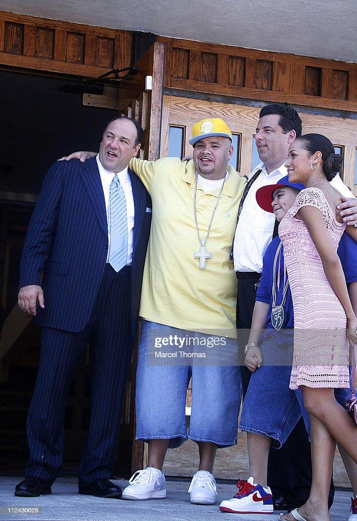 James Gandolfini, Steve Schirripa, and Rapper Fat Joe