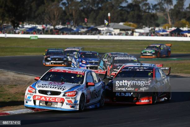James Golding drives the Wilson Security Racing GRM Holden Commodore VF during race 9 for the Winton SuperSprint which is part of the Supercars...