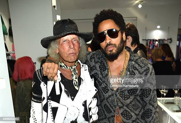 James Goldstein and Lenny Kravitz attend Chrome Hearts Celebrates Art Basel With Laduree Sean Kelly And A Live Performance By Abstrakto at Miami...