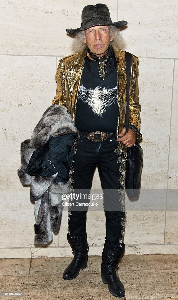 James Goldstein attends Fall 2013 Mercedes-Benz Fashion Show at The Theater at Lincoln Center on February 11, 2013 in New York City.