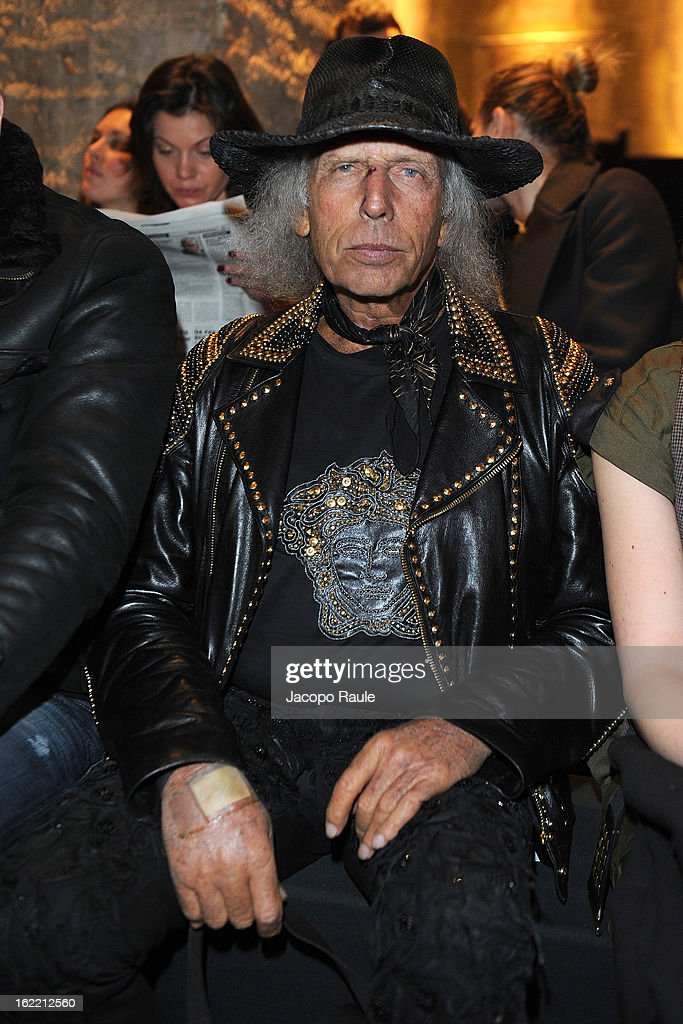<a gi-track='captionPersonalityLinkClicked' href=/galleries/search?phrase=James+Goldstein&family=editorial&specificpeople=712878 ng-click='$event.stopPropagation()'>James Goldstein</a> attends Francesco Scognamiglio show during Milan Fashion Week Womenswear Fall/Winter 2013/14 on February 20, 2013 in Milan, Italy.