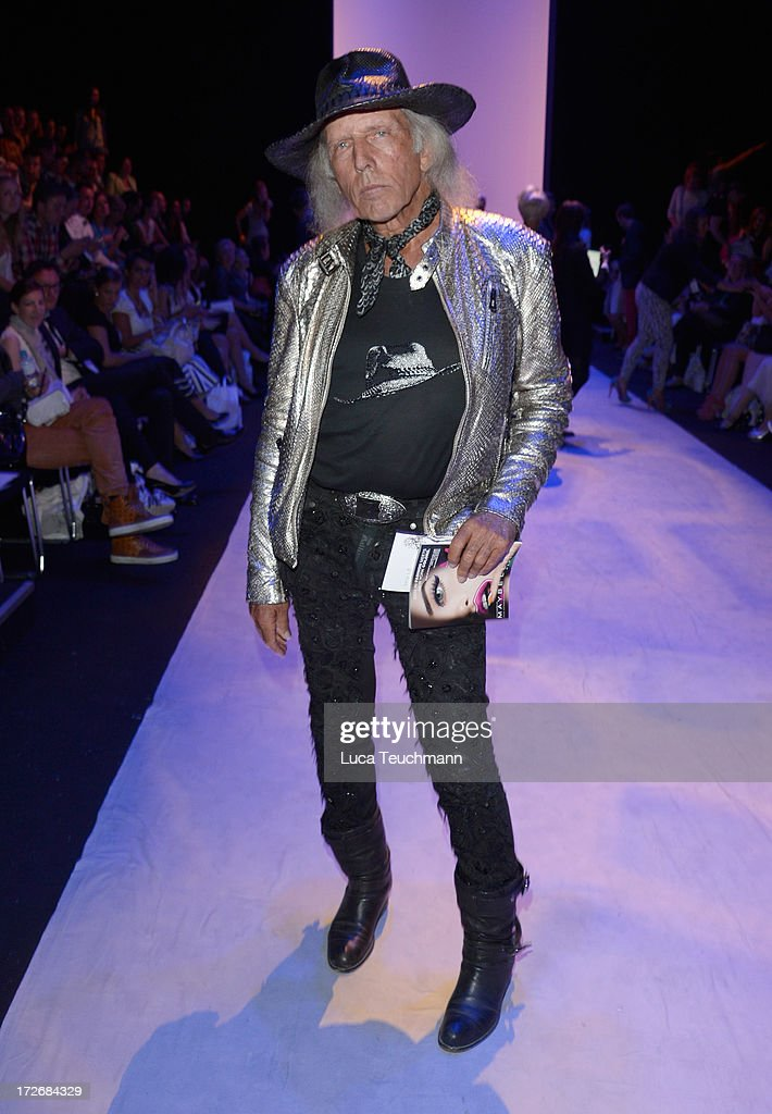 <a gi-track='captionPersonalityLinkClicked' href=/galleries/search?phrase=James+Goldstein&family=editorial&specificpeople=712878 ng-click='$event.stopPropagation()'>James Goldstein</a> attends the Irene Luft Show during the Mercedes-Benz Fashion Week Spring/Summer 2014 at Brandenburg Gate on July 4, 2013 in Berlin, Germany.