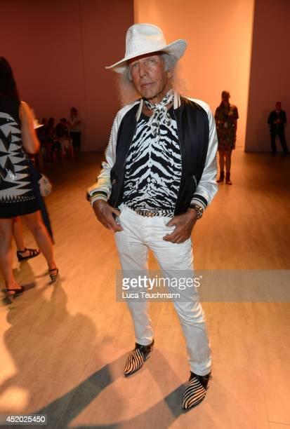 James Goldstein attends the Irene Luft show during the MercedesBenz Fashion Week Spring/Summer 2015 at Erika Hess Eisstadion on July 11 2014 in...