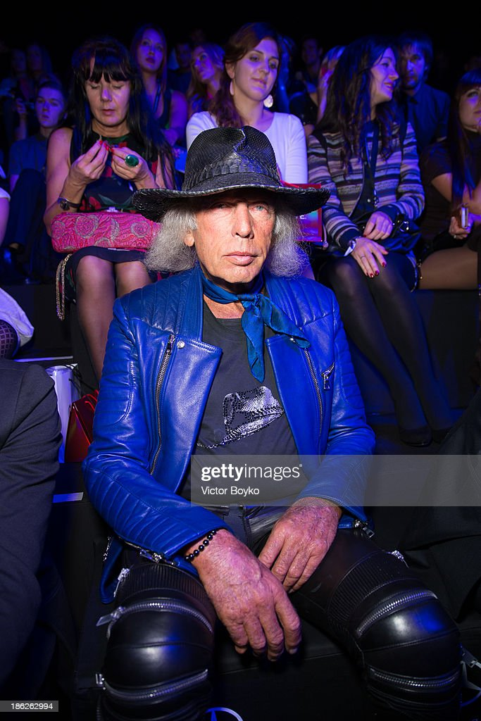 <a gi-track='captionPersonalityLinkClicked' href=/galleries/search?phrase=James+Goldstein&family=editorial&specificpeople=712878 ng-click='$event.stopPropagation()'>James Goldstein</a> attends the Muscovites by Mashsa Kravtsova show of Mercedes-Benz Fashion Week S/S 14 on October 29, 2013 in Moscow, Russia.