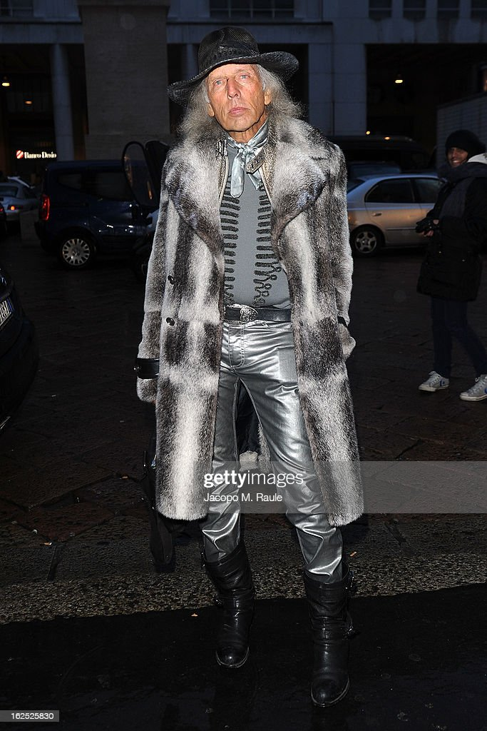 James Goldstein attends the Salvatore Ferragamo fashion show as part of Milan Fashion Week Womenswear Fall/Winter 2013/14 on February 24, 2013 in Milan, Italy.