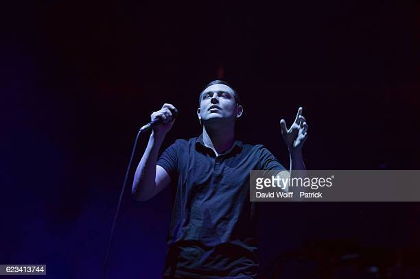 James Graham from The Twilight Sad opens for The Cure at AccorHotels Arena on November 15 2016 in Paris France