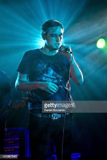 James Graham of The Twilight Sad performs at performs at The Hype Machine Hype Hotel on March 14 2012 in Austin Texas