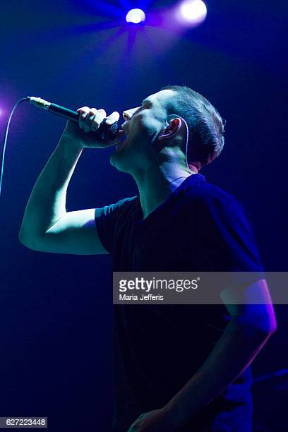 James Graham of The Twilight Sad performs at Wembley Arena on December 2 2016 in London England