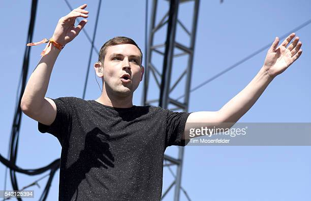 James Graham of The Twilight Sad performs during the Sasquatch Music Festival at Gorge Amphitheatre on May 29 2016 in George Washington