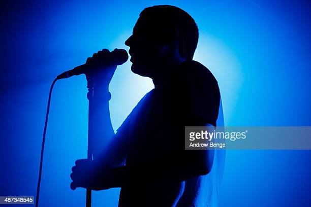 James Graham of The Twilight Sad performs on stage at Brudenell Social Club on April 29 2014 in Leeds United Kingdom