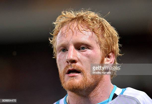 James Graham of the World All Stars during the NRL match between the Indigenous AllStars and the World AllStars at Suncorp Stadium on February 13...