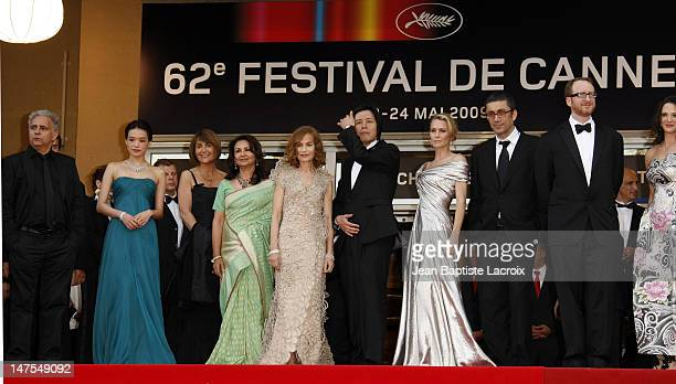 James Gray Isabelle Huppert Robin Wright Penn Asia Argento Sharmila Tagore Lee Chang Dong Nuri Bilge Ceylan and Hanif Kureishi and Shu Qi attend the...