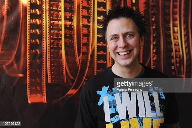 James Gunn attends a photocall for 'Super' during the 28th Torino Film Festival on December 3 2010 in Turin Italy