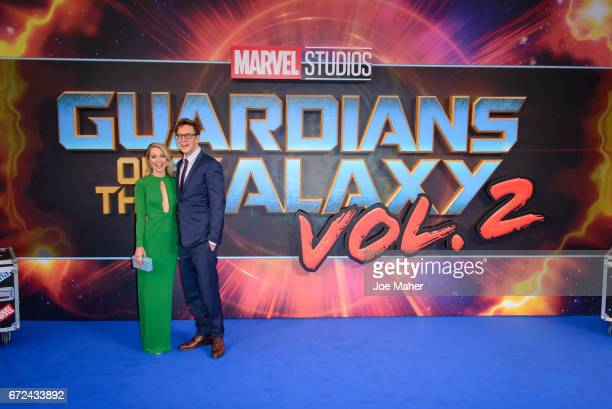 James Gunn attends the European Gala Screening of 'Guardians of the Galaxy Vol 2' at Eventim Apollo on April 24 2017 in London United Kingdom