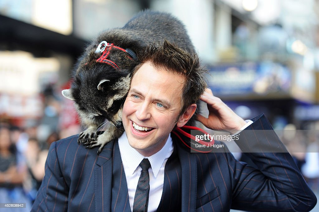 <a gi-track='captionPersonalityLinkClicked' href=/galleries/search?phrase=James+Gunn&family=editorial&specificpeople=669760 ng-click='$event.stopPropagation()'>James Gunn</a> attends the European premiere of 'Guardians Of The Galaxy' at The Empire Leicester Square on July 24, 2014 in London, England.