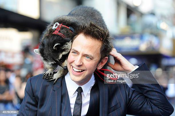 James Gunn attends the European premiere of 'Guardians Of The Galaxy' at The Empire Leicester Square on July 24 2014 in London England