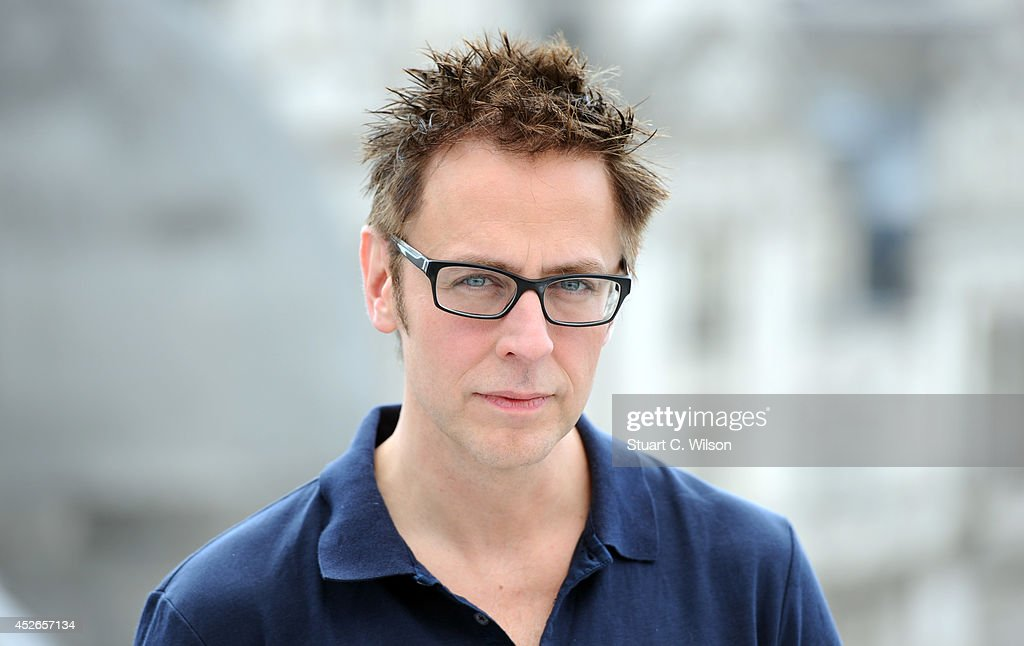 <a gi-track='captionPersonalityLinkClicked' href=/galleries/search?phrase=James+Gunn&family=editorial&specificpeople=669760 ng-click='$event.stopPropagation()'>James Gunn</a> attends the 'Guardians of the Galacy' photocall on July 25, 2014 in London, England.