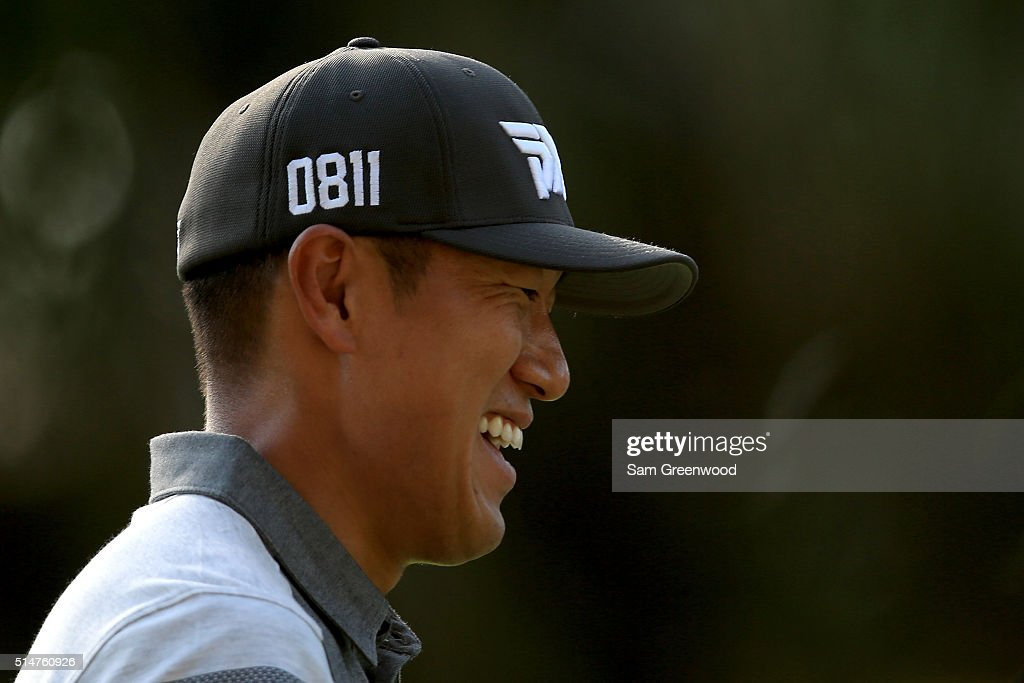 <a gi-track='captionPersonalityLinkClicked' href=/galleries/search?phrase=James+Hahn+-+Golfer&family=editorial&specificpeople=15809875 ng-click='$event.stopPropagation()'>James Hahn</a> looks on as he walks off the 17th tee during the first round of the Valspar Championship at Innisbrook Resort Copperhead Course on March 10, 2016 in Palm Harbor, Florida.