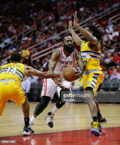 Houston Rockets Vs Denver Nuggets: Bob Harris Stock Photos And Pictures