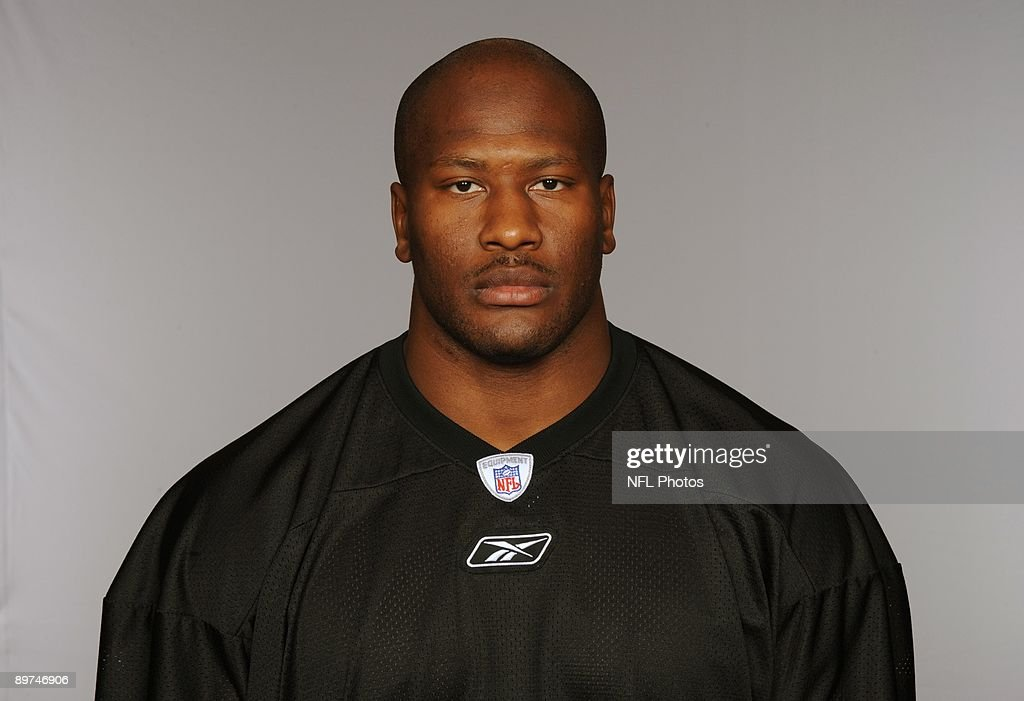 James Harrison of the Pittsburgh Steelers poses for his 2009 NFL headshot at photo day in Pittsburgh, Pennsylvania.