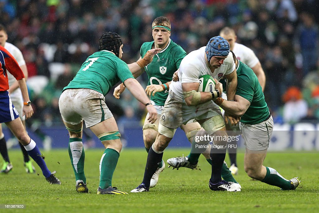 <a gi-track='captionPersonalityLinkClicked' href=/galleries/search?phrase=James+Haskell&family=editorial&specificpeople=539694 ng-click='$event.stopPropagation()'>James Haskell</a> of England in action during the RBS Six Nations match between Ireland and England at Aviva Stadium on February 10, 2013 in Dublin, Ireland.