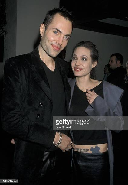 James Haven and Angelina Jolie