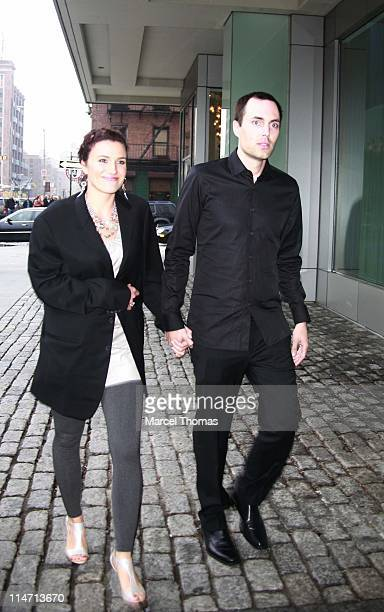 James Haven and guest during Celebrity Sightings at the Gansevoort April 27 2007 at Gansevoort Hotel in New York City New York United States