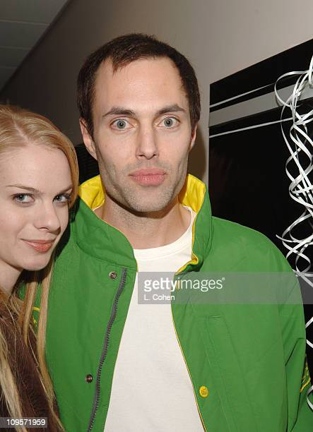 James Haven and guest during KROQ Almost Acoustic Christmas 2005 Day 2 Backstage at Gibson Amphitheater in Los Angeles California United States