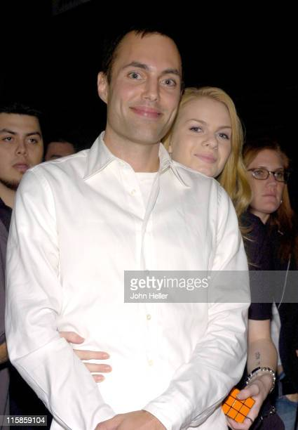James Haven and Rachael Anderson during 'Breaking Dawn' Habsbro's Rubik's Cube US Premiere at Cin[e]space in Hollywood California United States