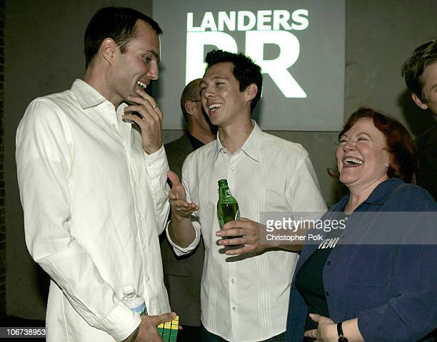 James Haven director Mark Edwin Robinson and Edie McClurg