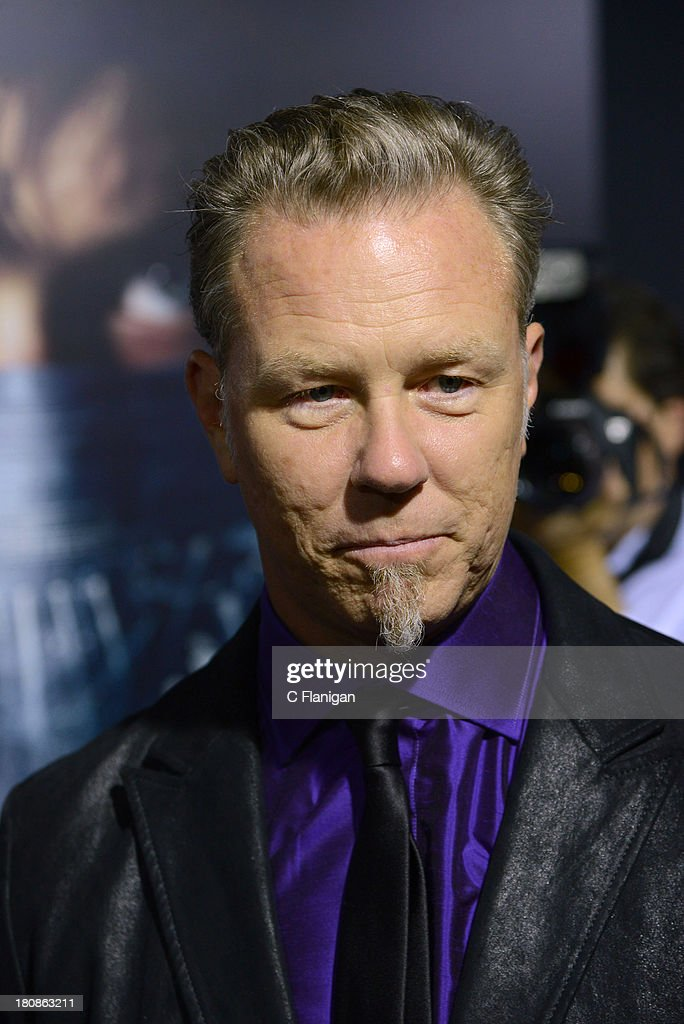 James Hetfield of Metallica attends the U.S. premiere of 'Metallica: Through The Never' at the AMC Metreon on September 16, 2013 in San Francisco, California.