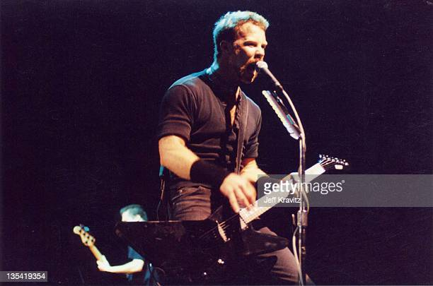 James Hetfield of Metallica during 1996 File Photos