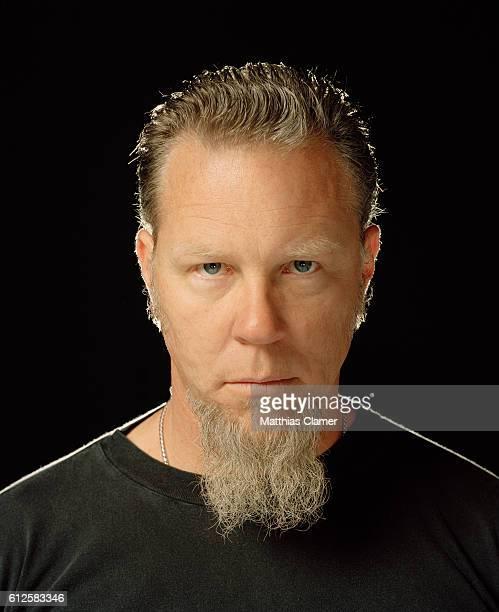 James Hetfield of Metallica is photographed in 2007