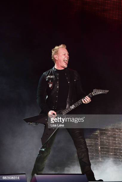 James Hetfield of Metallica performs live on stage at Lincoln Financial Field on May 12 2017 in Philadelphia Pennsylvania