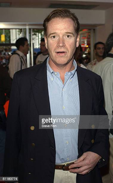 James Hewitt arrives at the UK premiere of 'Dodgeball A True Underdog Story' at the Odeon Kensington on August 17 2004 in London